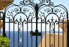 Aarons Pass Wrought iron fencing 13
