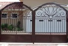 Aarons Pass Wrought iron fencing 2